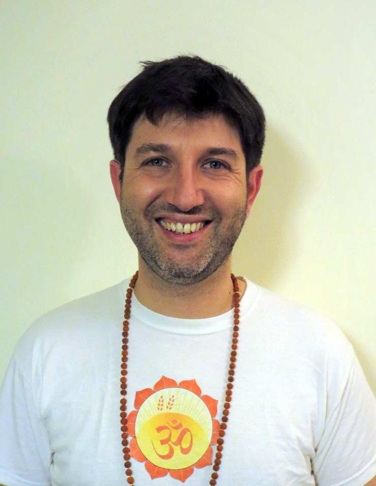 David insegnante di yoga
